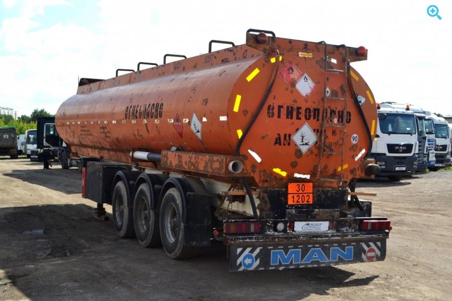 Полуприцеп цистерна бензовоз ELLINGHAUS K-STA