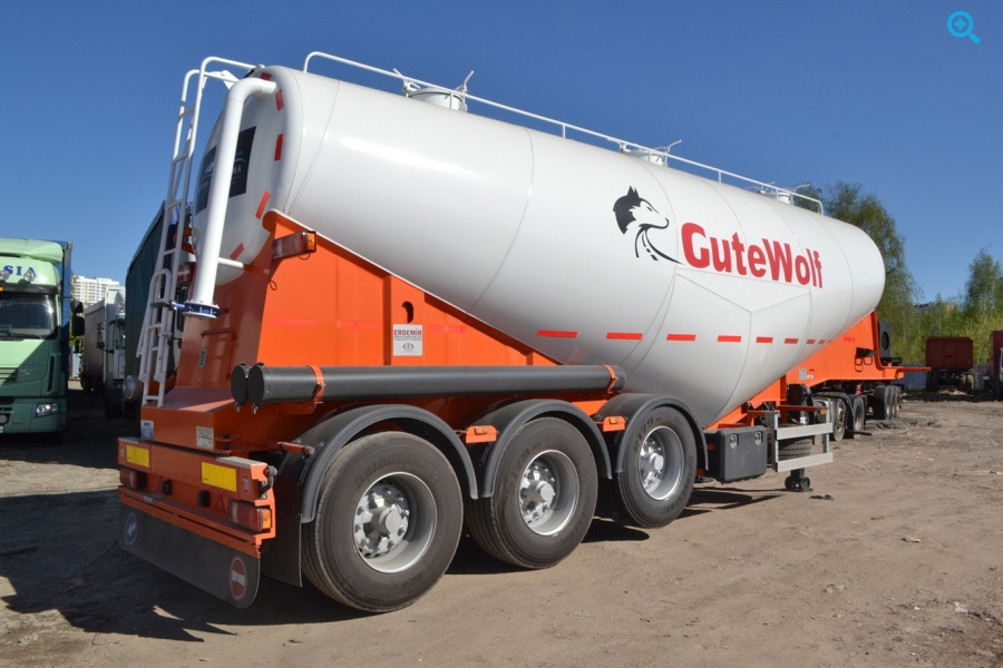Полуприцеп цементовоз GuteWolf. Год выпуска 2018.