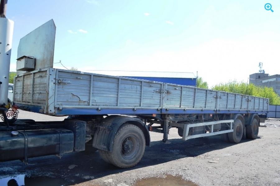 Бортовой полуприцеп МАЗ-938660. Год выпуска 2007.