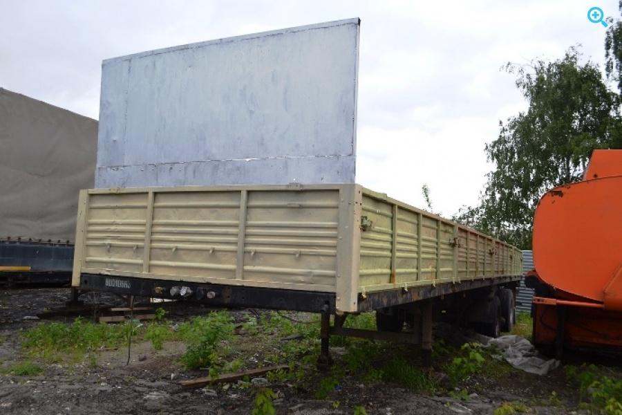 Полуприцеп бортовой МАЗ-975800-046. Год выпуска 2008.
