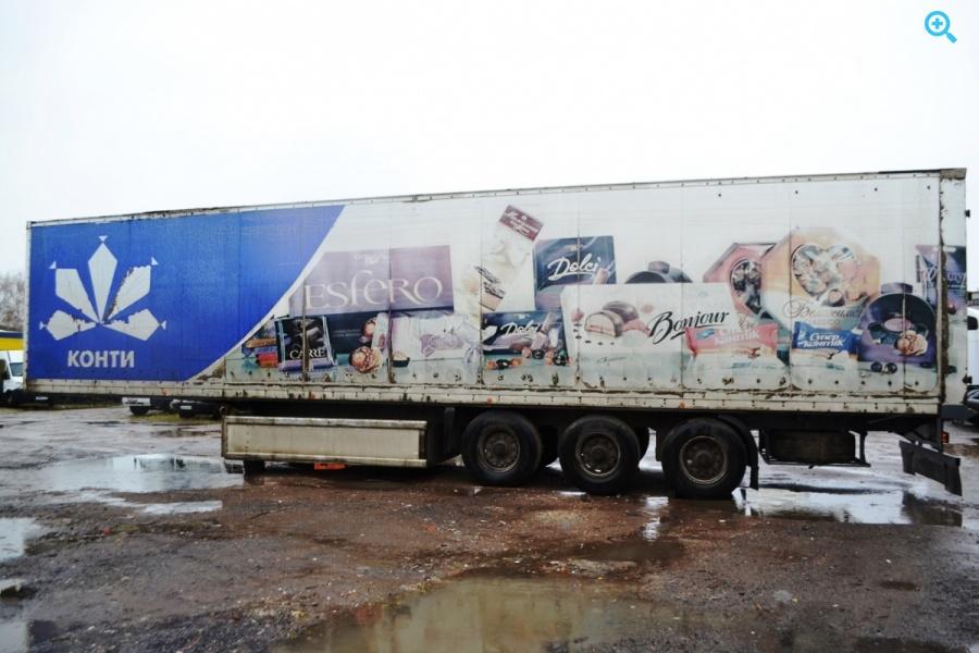 Полуприцеп промтоварный фургон Fruehauf. Год выпуска 1992.