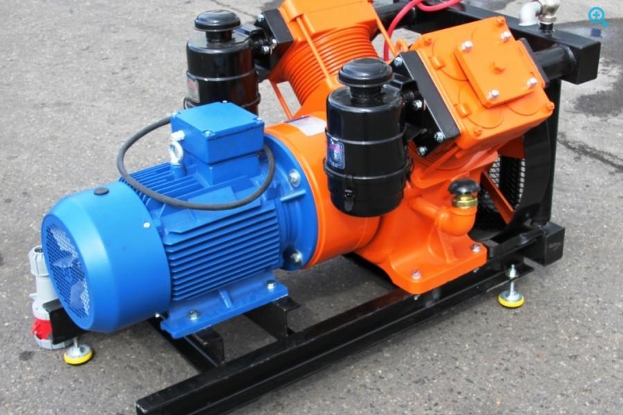Компрессор двух поршневой Bekomsan Esinti 102 с электродвигателем
