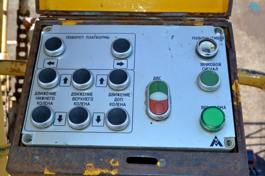 Маз Автогидроподъемник ПМС 328Д. ПТС выдан 18 августа 2009 г