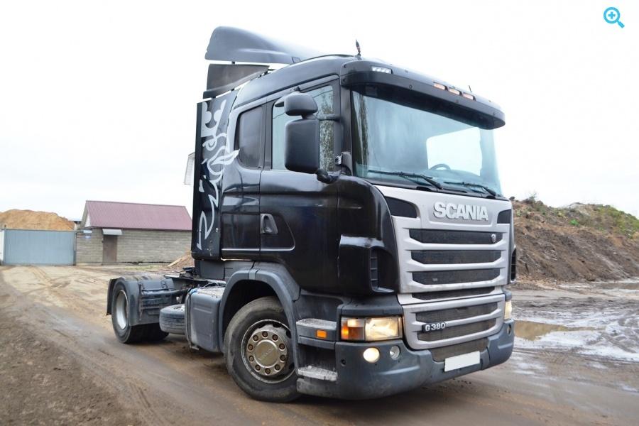 Седельный тягач Scania G380. Год выпуска 2010.