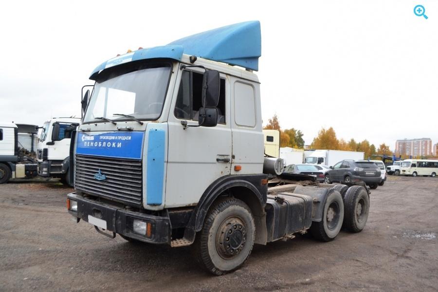 Седельный тягач МАЗ-642208-20. Год выпуска 2001.