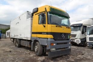 Купить Mercedes-Benz Actros 2540 грузовик рефрижератор. Год выпуска : 2002