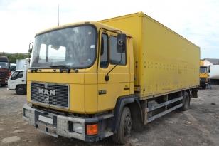 Грузовой фургон MAN 14-272.Год выпуска 1995