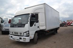 Купить Грузовой фургон Isuzu NQR75 2009 года выпуска.