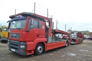 Купить MAN TGA 18.350 грузовик автовоз. Год выпуска : 2007.