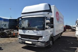 Mercedes-Benz Atego 816 грузовик фургон. Год выпуска : 2008