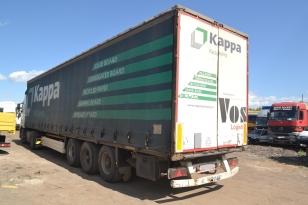 Полуприцеп штора Krone SDP27. Год выпуска : 1999