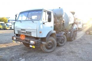 Автобетоносмеситель КАМАЗ 65400А 1999г.в