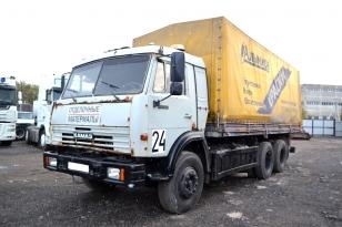 Купить КАМАЗ 53215N (борт-тент)   2003г.в.