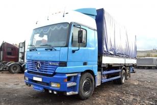 Купить Mercedes-Benz Actros 2540 грузовик тентованный. Год выпуска : 1999