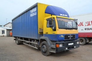 MAN 18.224  2000 г.в.   грузовой фургон (контейнеровоз)