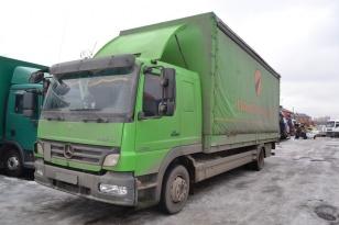 Купить шторный (тентованный) грузовик МЕРСЕДЕС АТЕГО (MERCEDES ATEGO) 1224 Б/У в России