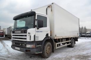 Купить SCANIA P94 грузовик изотермический. Год выпуска : 2003