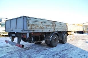 Полуприцеп бортовой МАЗ – 938662-025. Год выпуска - 2006.