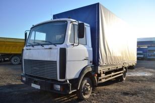 МАЗ-437041-268 грузовик бортовой(тентованный). 2007 года.
