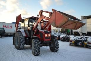Экскаватор бульдозер погрузчик на базе трактора МТЗ-92П. Год выпуска : 2013.