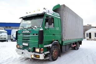 Купить Scania 113 грузовик тентованный. Год выпуска : 1994