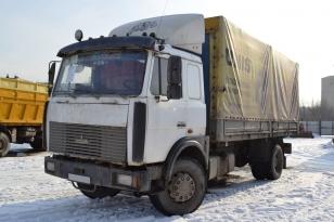 Маз 533603-221 грузовик тентованый. Год выпуска - 2005.