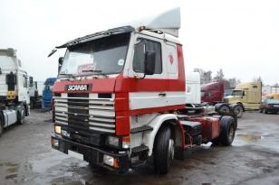 Седельный тягач Scania 112H. Год выпуска - 1986.