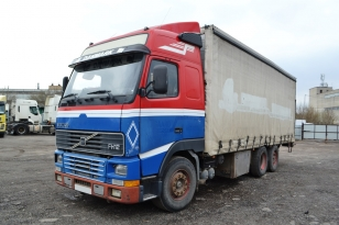 Грузовой-Бортовой шторный VOLVO FH 12 380. Год выпуска 1996.