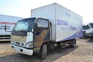 Грузовой фургон ISUZU - NQR71P. Год выпуска 2007.