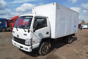 BAW FENIX изотермический фургон. Год выпуска 2012.
