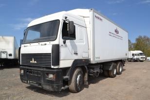 Грузовой фургон изтермический МАЗ 631208-047-712 2007г.в.