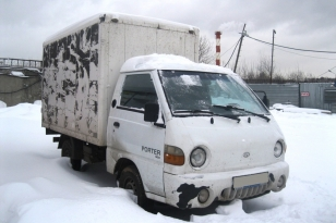Грузовик Hyundai Porter АФ 474-330 Год выпуска 2008.