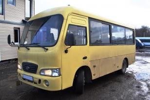 Городской автобус HYUNDAI HD SWB County Год выпуска 2007.