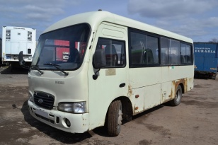 Городской автобус HYUNDAI HD SWB County. Год выпуска 2007.