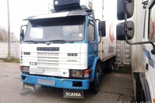 Грузовик рефрижератор SCANIA 210. Год выпуска 1992.