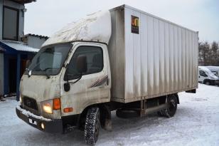 Грузовик фургон HYUNDAI HD 65. Год выпуска 2012.