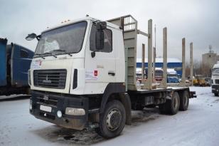 Грузовик сортиментовоз лесовоз МАЗ-6312В9-426-012. Год выпуска 2013.
