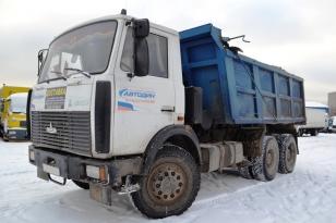 Грузовик самосвал МАЗ 551605-271. Год выпуска 2007.