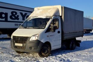 Бортовой тентованный грузовик ГАЗ A21R22