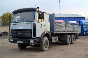 Бортовой грузовик МАЗ 630302