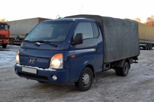 Бортовой тентованный Hyundai Porter 2
