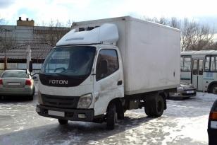 Грузовой фургон-рефрижератор Foton BJ1039