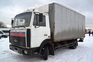 Грузовик изотермический МАЗ Зубренок 4370. Год выпуска 2005.