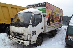 Грузовик фургон FAW Год выпуска 2010.