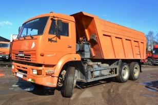 Самосвал КАМАЗ 6520. Год выпуска – 2007.