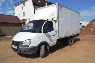 Грузовой изотермический фургон Газель 3302. Год выпуска - 2012.