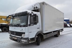 Грузовой фургон рефрижератор Mercedes-benz Atego 816. Год выпуска - 2007.