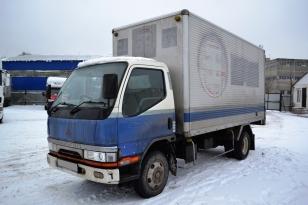 Изотермический фургон Mitsubishi Canter. Год выпуска - 1996.