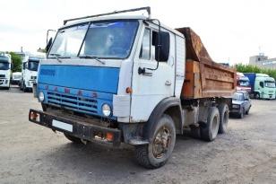 Грузовик самосвал КАМАЗ-55111. Год выпуска 1993.