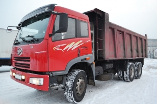 Самосвал грузовик Faw CA3252P2K2T1A. Год выпуска 2008.